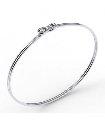 Encordia™ szoliter Forevermark gyémánt karkötő