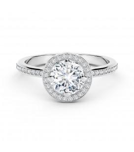 Forevermark Setting™ Circlet Pavé Gyűrű